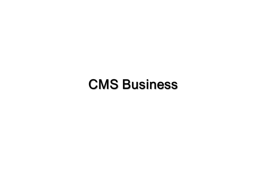 Role & Responsibility CMS Business KOREA USA CHINA [Seoul] [LSRDP 1)]